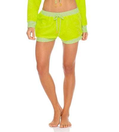 GLOW BABY GLOW LIME RELAXED SHORT LULI FAMA L643H03-046