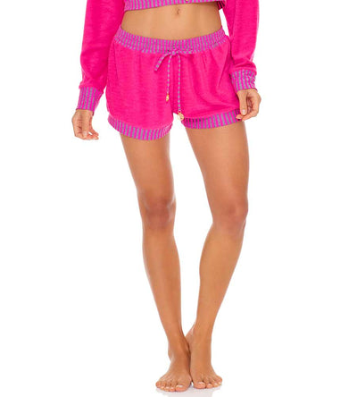 GLOW BABY GLOW PINK RELAXED SHORT LULI FAMA L643H03-052