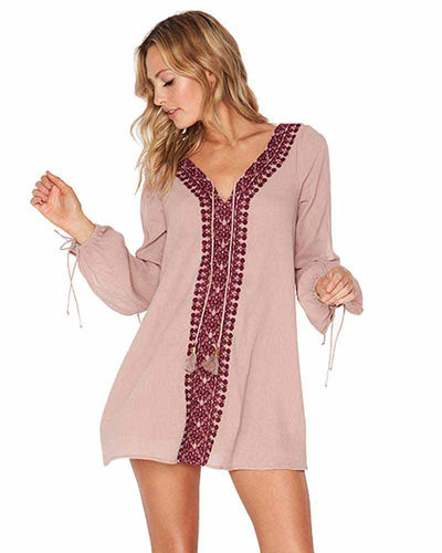 DUSTY PEARL GOLD COAST TUNIC LSPACE GOCTU18-DSP