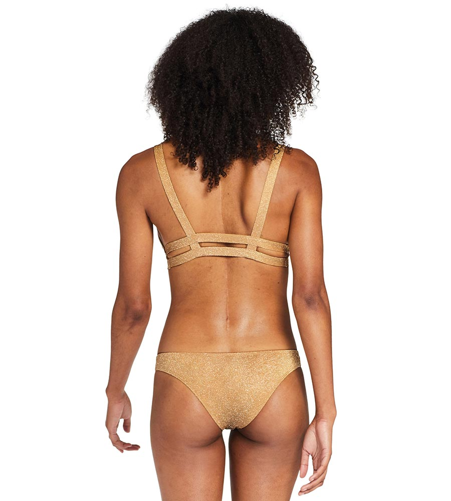 GOLDEN GLOW METALLIC NEUTRA BRALETTE VITAMIN A 40TGOG
