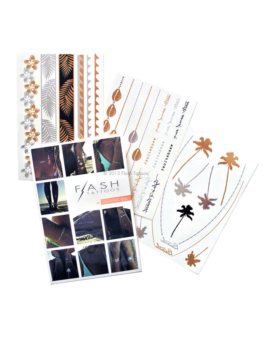 GOLDFISH KISS FLASH TATTOOS FT003