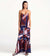 GRAPHIC GARNET MAXI DRESS BY TOUCHE