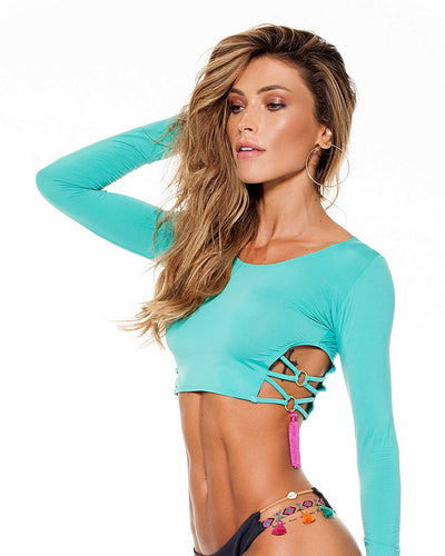 GREEN KENDALL TOP LYBETHRAS TOPKENDALL