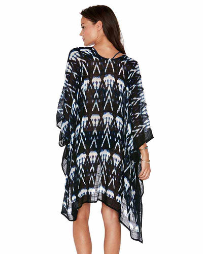 SHIBORI SEAS GO WITH THE FLOW COVER UP LSPACE GWFCV18-MDB