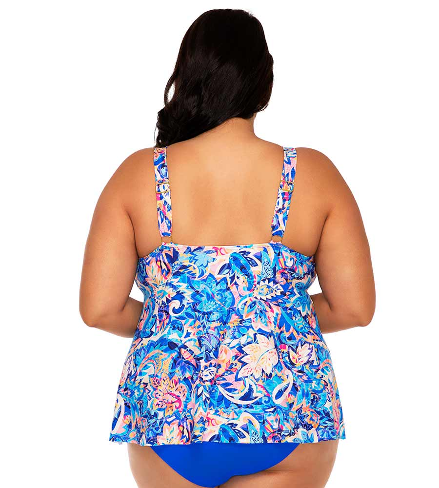 GYPSY BREEZE SADIE TANKINI TOP SUNSETS ESCAPE 584TGYPBR