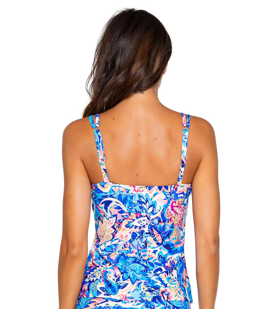GYPSY BREEZE TAYLOR TANKINI TOP BY SUNSETS