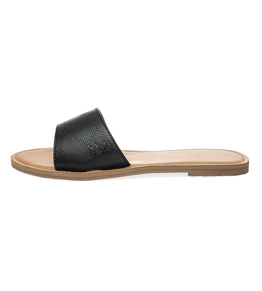 ICON BILLIE BLACK SANDALS BY MALVADOS SANDALS