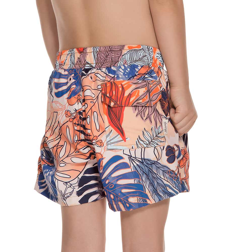 IN-FLIGHT BOYS SWIM SHORTS MAAJI 9086KST11