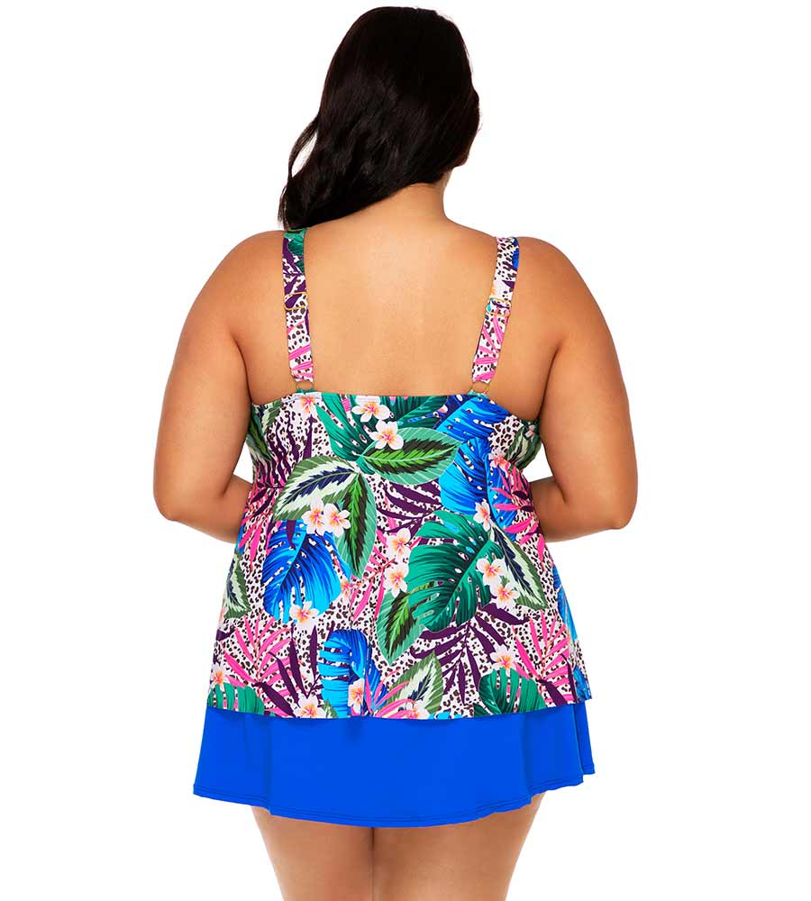 ISLAND SAFARI SADIE TANKINI TOP SUNSETS ESCAPE 584TISSAF