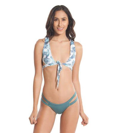 BANANA LEAF HIGH TIDE BIKINI BOTTOM KAYOKOKO KK-502B-BLF