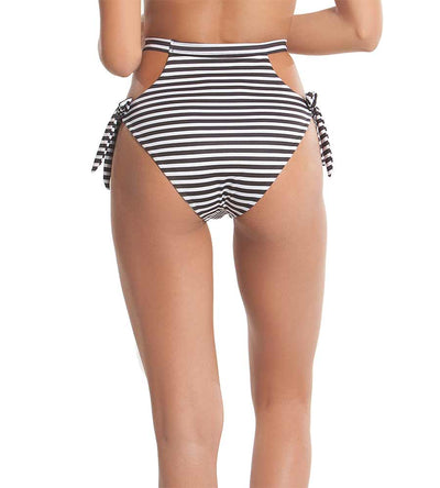 TROPIC STRIPE RETRO WAVES BIKINI BOTTOM KAYOKOKO KK-509B-STP