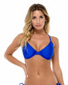 ELECTRIC BLUE COSITA BUENA D-E UNDERWIRE TOP LULI FAMA L176293-340