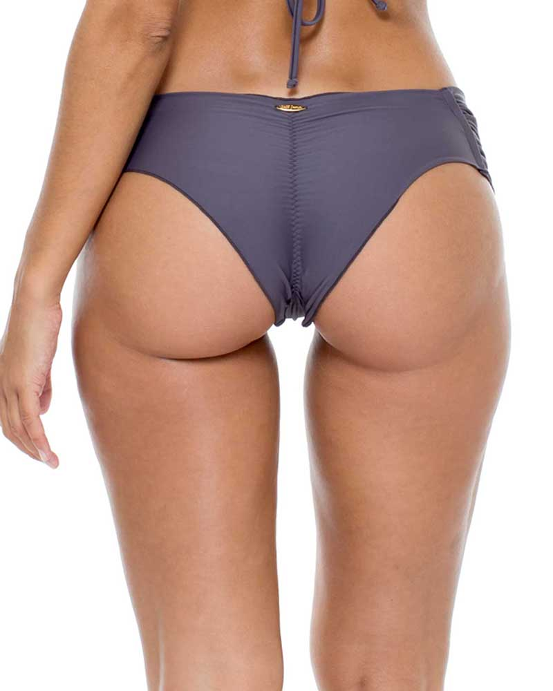 PIEDRA GRIS COSITA BUENA SCRUNCH BRAZILIAN RUCHED BACK BOTTOM LULI FAMA L176346-441
