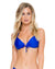 ELECTRIC BLUE COSITA BUENA MOLDED PUSH UP TOP BY LULI FAMA
