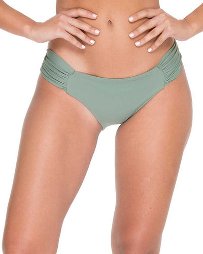 ARMED AND READY COSITA BUENA FULL RUCHED BACK BOTTOM LULI FAMA L176521-431
