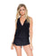BLACK COSITA BUENA T-BACK MINI DRESS BY LULI FAMA
