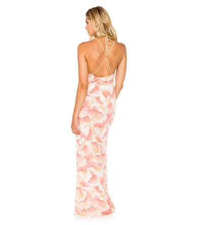 COSTA DE LUZ BOMBO FLOWY LONG DRESS LULI FAMA L573677-111