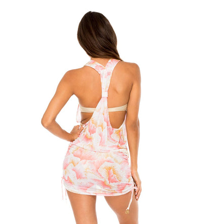 COSTA DE LUZ T BACK MINI DRESS LULI FAMA L573979-111
