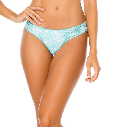 ALMERIA REVERSIBLE RUCHED BACK BOTTOM LULI FAMA L60604P-111