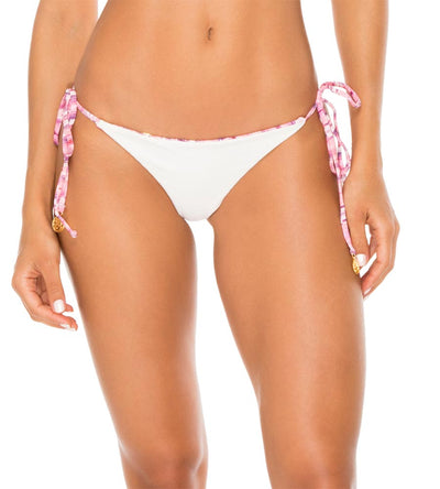 CADIZ REVERSIBLE RUCHED BRAZILIAN TIE SIDE BOTTOM LULI FAMA L60702Y-111