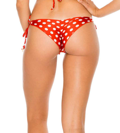 OLE RED MACARENA RUCHED BRAZILIAN TIE SIDE BOTTOM LULI FAMA L62102-O16