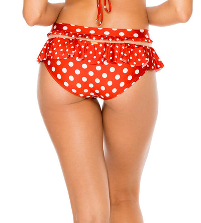 OLE RED MACARENA RUFFLE MESH FULL BOTTOM LULI FAMA L621R56-O16