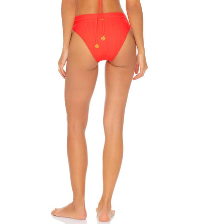 LAST FLING RED HOT HIGH WAIST BANDED BOTTOM LULI FAMA L636N56-058
