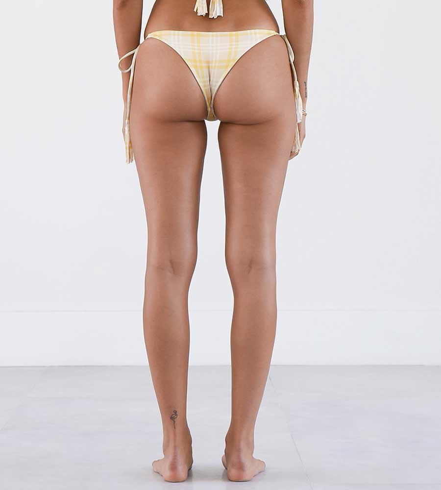 LEMON PLAID KAIA BOTTOM NIRVANIC NW00028A