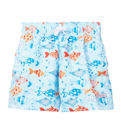 LIGHT BLUE FISH AND CO SWIM SHORTS AZUL 219-LB