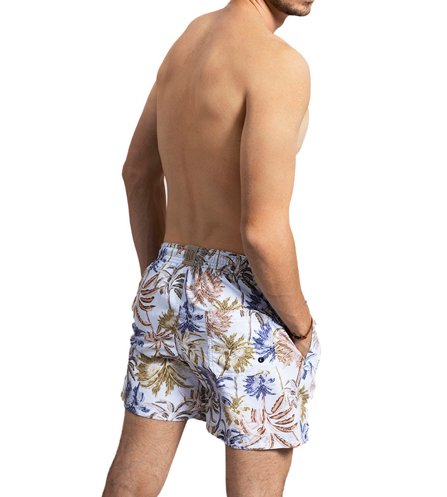 LILAC UNDER THE PALMS SWIM SHORTS TOUCHE MH14A11