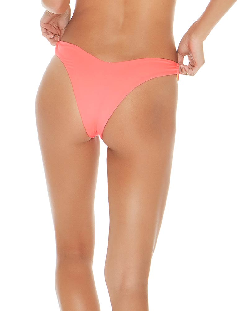 SENSUAL SOLIDS NEON PINK DANA BOTTOM BY LSPACE