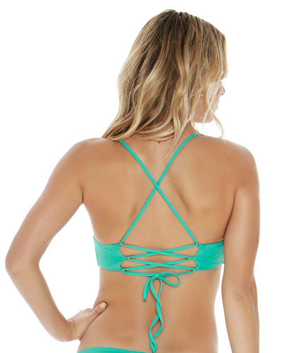 SPEARMINT THE BLONDE ABROAD FLYNN TOP LSPACE LSFLT18-SPR