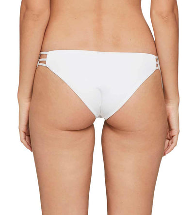 WHITE SENSUAL SOLIDS KENNEDY BOTTOM BY LSPACE