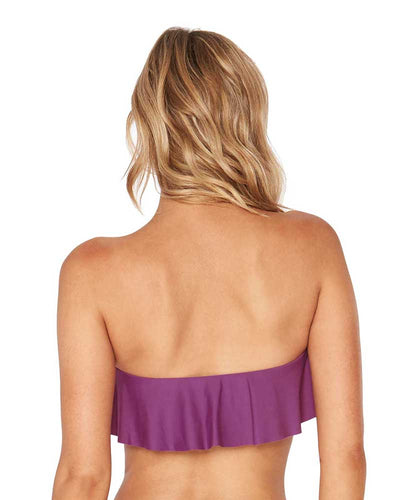 RUFFLES ORCHID LYNN TUBE TOP LSPACE LSLYT18-ORC