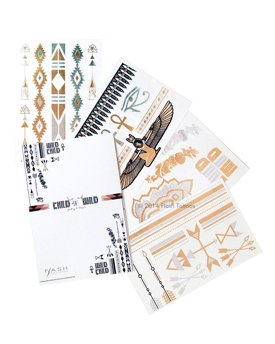 CHILD OF WILD FLASH TATTOOS FT009