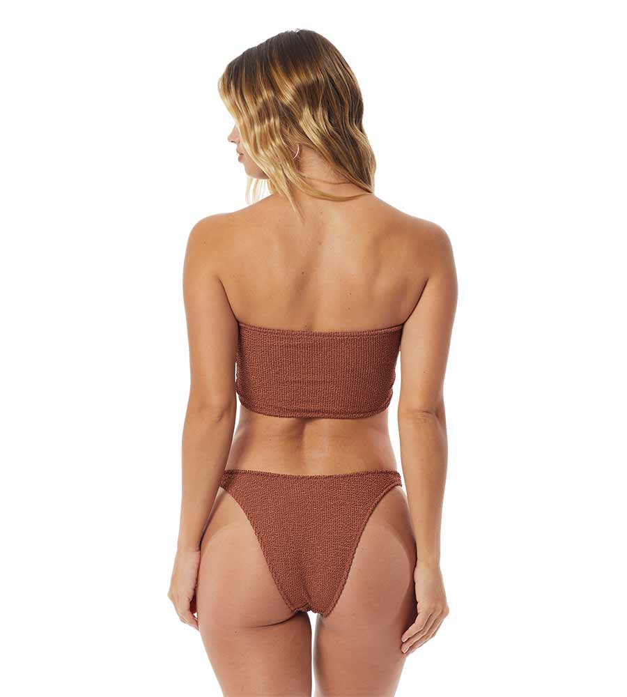 MALIBU PUCKER BRONZE SASS TOP BY TORI PRAVER