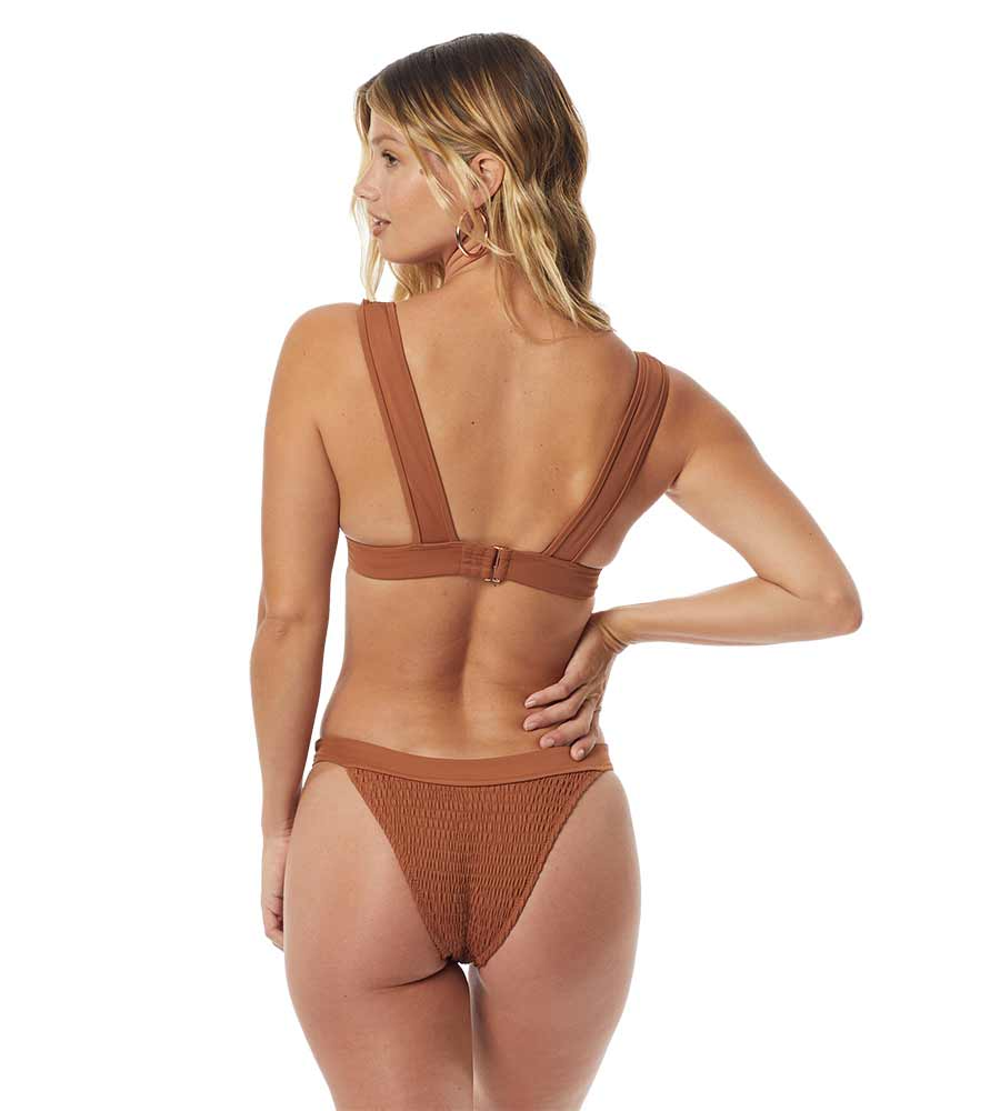 MALIBU PUCKER BRONZE SOPHIA TOP BY TORI PRAVER