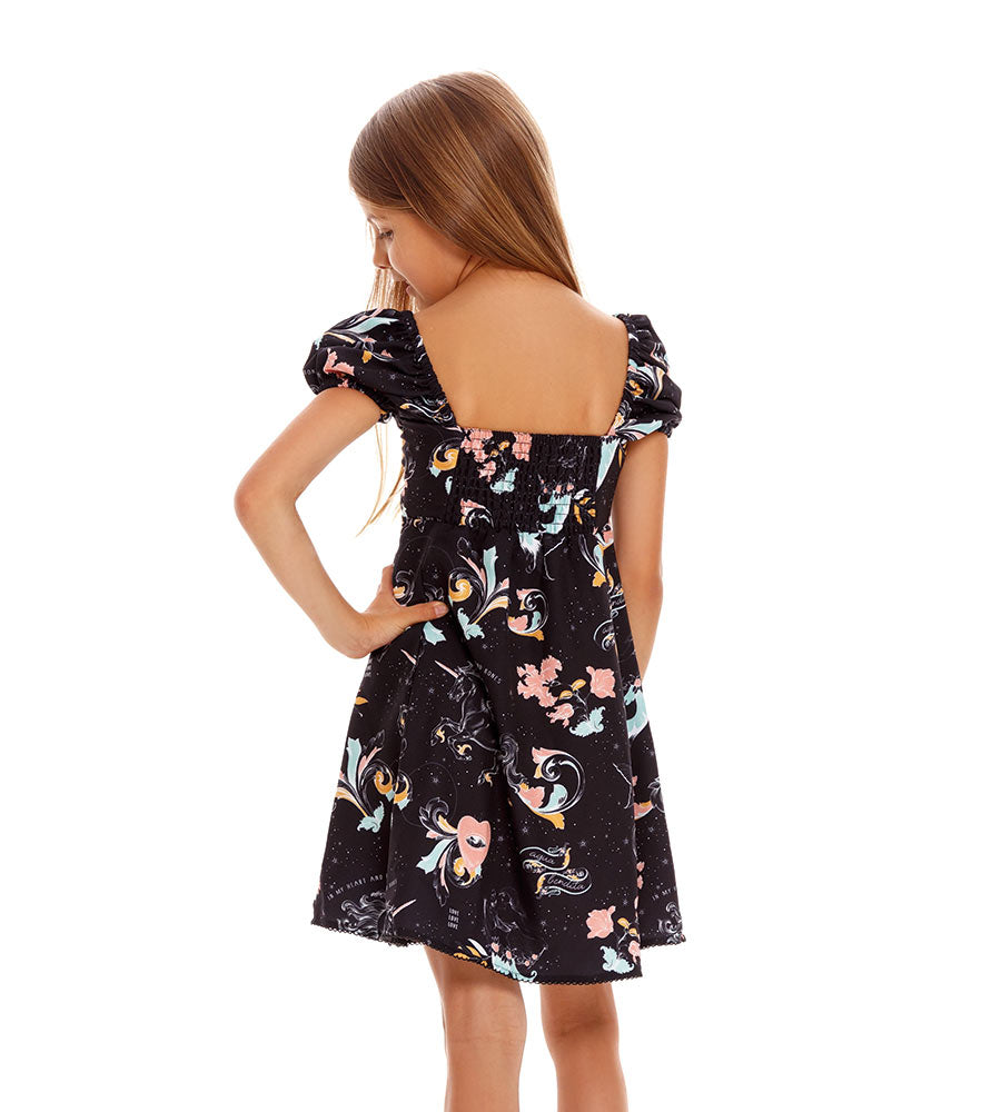 MARE GRETA GIRLS DRESS AGUA BENDITA AN4001621-1