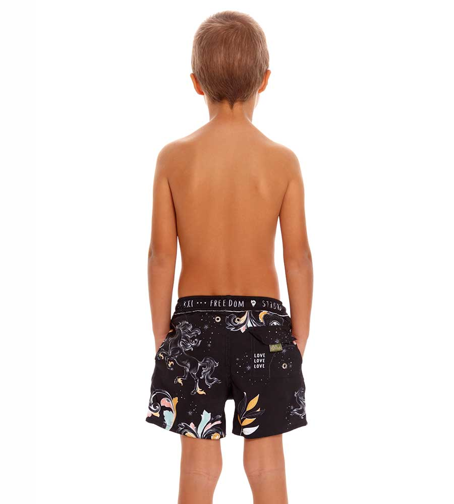 MARE NICK BOYS SWIM TRUNKS AGUA BENDITA AN2001721-1