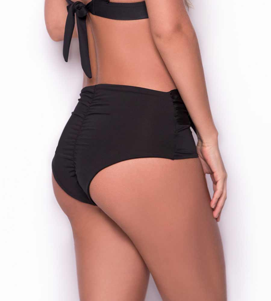 MARGARITA BLACK TIE FRONT BOTTOM BY MILONGA