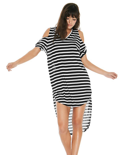 DOMINO STRIPE MAY'S COVER UP LSPACE MAYCV18-DST