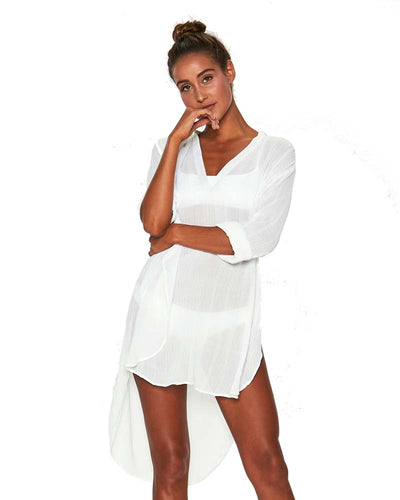 WHITE MEGAN COVER UP LSPACE MEGCV18-WHT