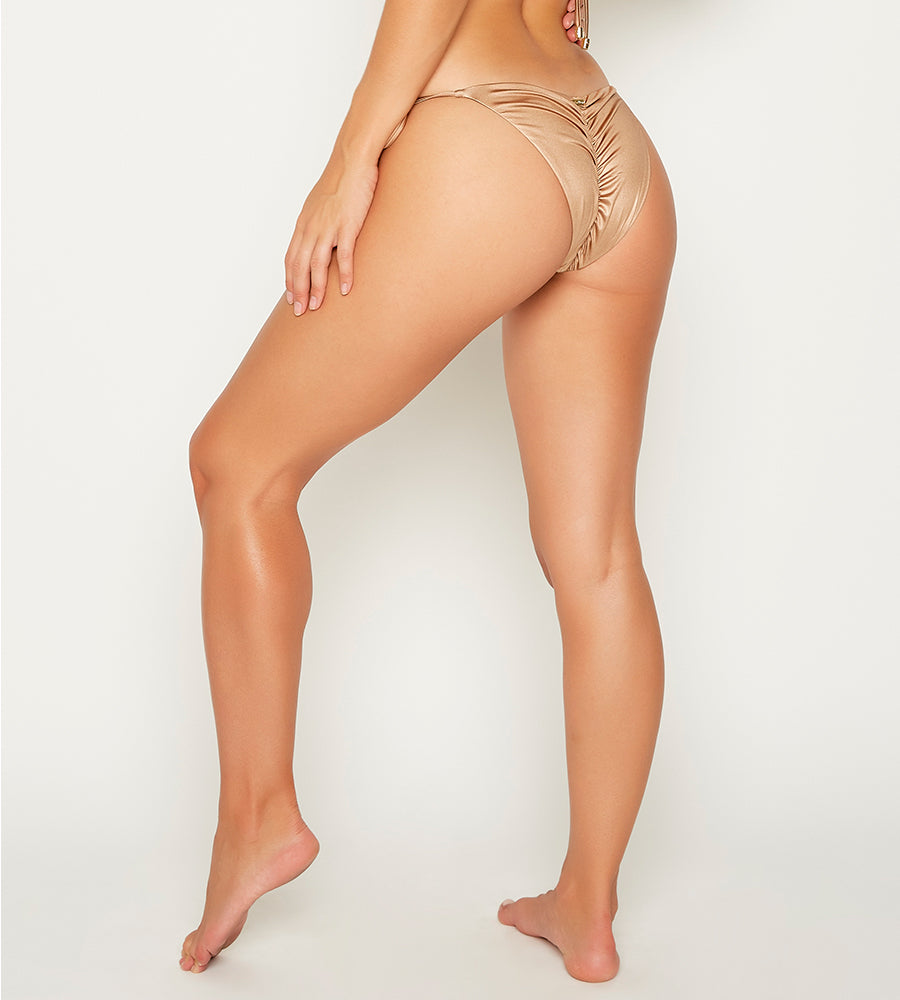 ARIEL MERMAID OMBRE SKIMPY BOTTOM BY BEACH BUNNY