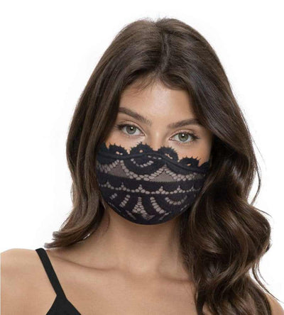 MIDNIGHT LACE FACE MASK PQ MASQINI MID-079T