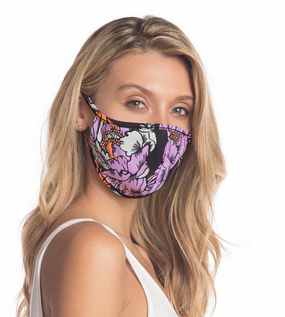 MIDNIGHT HUNTING CALM ADULT FACE MASKS - 5 PACK MAAJI 1053INV006