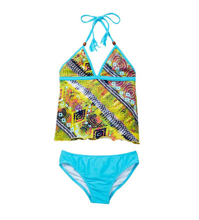 NATIVE THREADS TANKINI AZUL 5940