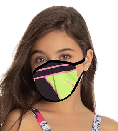 CHEERFUL REVERSIBLE CHILD FACE MASK MAAJI 1013INV001