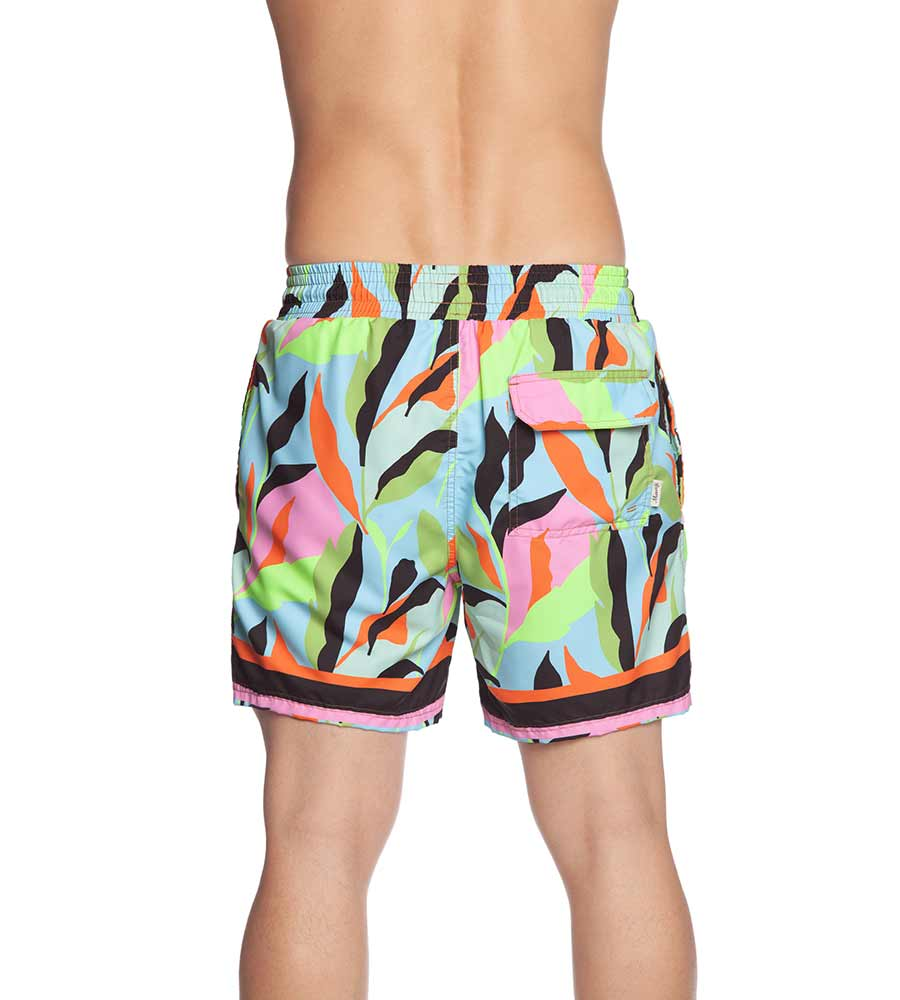 SUNSET PARADISE MENS SWIM TRUNKS MAAJI 1048TSS05