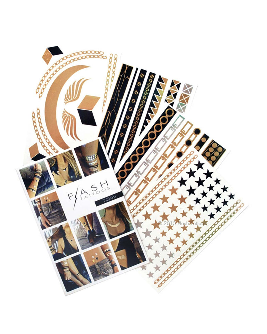 NIKKI FLASH TATTOOS FT006