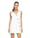 OFF WHITE TUBE DRESS VIX 294-518-003